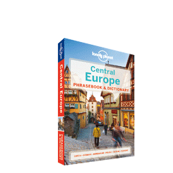 Lonely Planet Central Europe Phrasebook 4th Edition