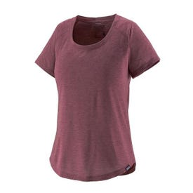 Patagonia Cap Cool Short Sleeve Trail Shirt Women's - Chicory Red