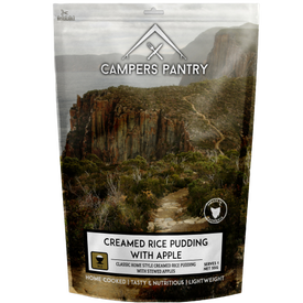 Campers Pantry Creamed Rice Pudding with Apple