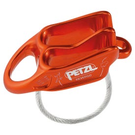 Petzl Reverso Belay Device - Red
