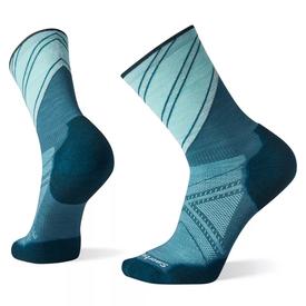 Smartwool PhD® Run Light Elite Pattern Crew Sock Men's - Dark Prussian Blue