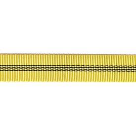 Tendon 25mm Tubular Tape Per Metre - Yellow