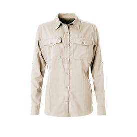 Royal Robbins Bug Barrier Expedition LS Shirt Women's - Soapstone