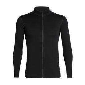 Icebreaker RealFleece Elemental Long Sleeve Zip Jacket Men's - Black