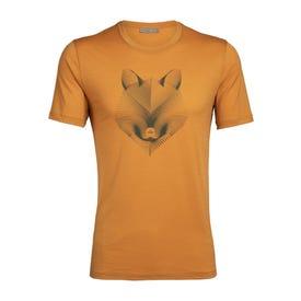 Icebreaker Tech Lite SS Crewe T-Shirt Arctic Fox Men's - Cavern