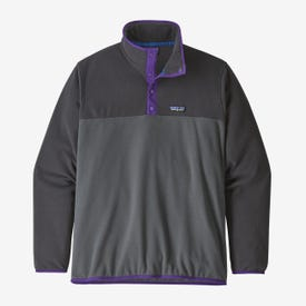 Patagonia Micro D Snap-T Pullover Men's - Forge Grey