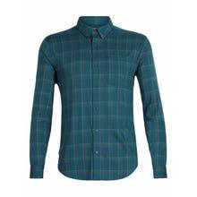 Icebreaker Cool-Lite Compass Flannel Long Sleeve Shirt Men's