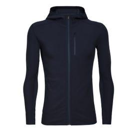 Icebreaker Descender RealFleece® LS Zip Hooded Jacket Men's - Midnight Navy
