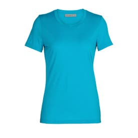 Icebreaker Merino Tech Lite II SS Shirt Women's - Arctic Teal