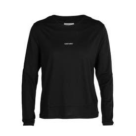 Icebreaker Meteroa ZoneKnit Merino LS Shirt Women's - Black