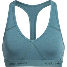 Icebreaker Sprite Racerback Bra Women's - Blue Spruce