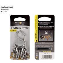 Nite Ize KeyRack™ Steel S-Binder