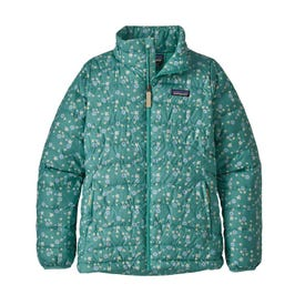 Patagonia Down Sweater Jacket Girls' - Light Beryl