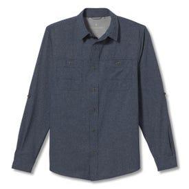 Royal Robbins Long Distance Traveler LS Shirt Men's - Deep Blue