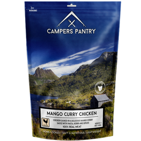 Campers Pantry Mango Curry Chicken - Single Serve
