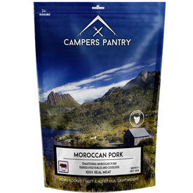 Campers Pantry Moroccan Pork - Single Serve