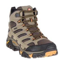 Merrell Moab 2 Mid Gore-Tex Wide Boot Men's - Walnut