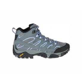 Merrell Moab 2 Mid Gore-Tex Boot Women's - Grey / Periwinkle