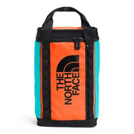 The North Face Explore Fusebox 14L Daypack - Red Orange / Transantarctic Blue