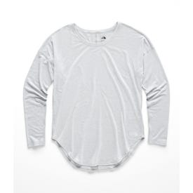 The North Face Workout LS Tee Women's - TNF Light Grey Heather