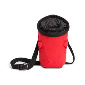 The North Face Dome Chalk Bag - Horizon Red / TNF Black