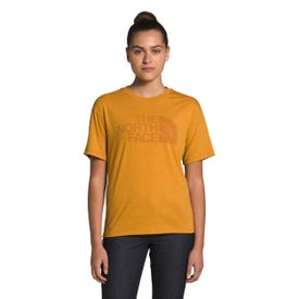 The North Face Half Dome Tri Tee SS Women's - Citrine Yellow Heather