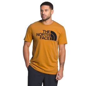 The North Face Half Dome Tee SS Men's Online Only - Citrine Yellow/TNF Black
