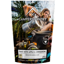 Campers Pantry Oats with Apple & Cinnamon - Double Serve
