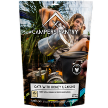 Campers Pantry Oats With Honey & Raisins DBL
