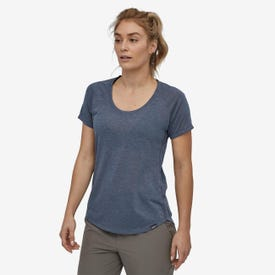 Patagonia Cap Cool Short Sleeve Trail Shirt Women's - Classic Navy