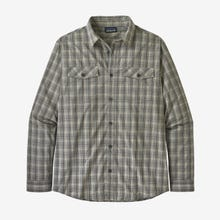 Patagonia High Moss Shirt Long Sleeve Men's - Hex Grey