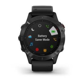 Garmin fēnix® 6 Pro GPS Watch - Black with Black Band