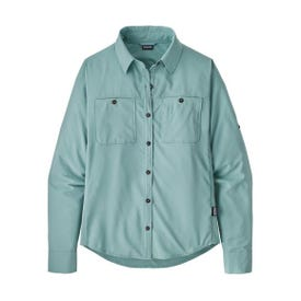 Patagonia Self Guided Hike Shirt LS Women's - Upwell Blue