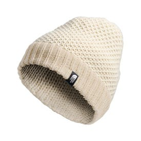The North Face Purrl Stitch Beanie - Bleached Sand