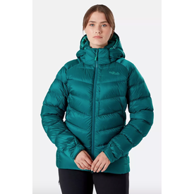 Rab Axion Pro Hooded Jacket Women's - Atlantis