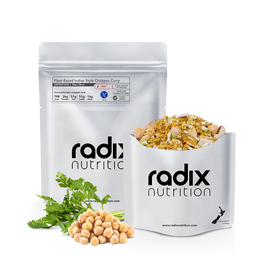 Radix Expedition - Plant Based Indian Style Chickpea Curry