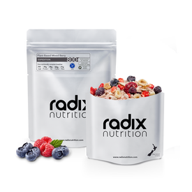 Radix Expedition - Plant-Based Mixed Berry Breakfast