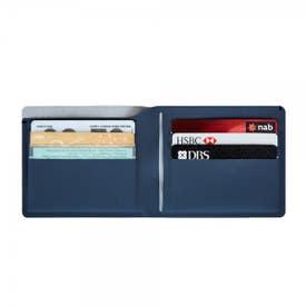 Pacsafe RFIDsafe TEC Bifold PLUS Wallet - Navy Blue