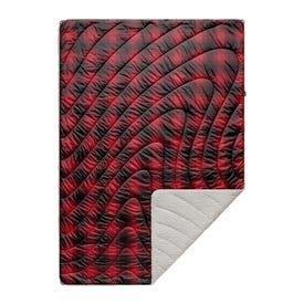 Rumpl Sherpa Puffy Blanket 1P - Ombre Plait