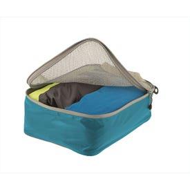 Travelling Light Garment Mesh Bags Blue