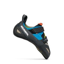 Scarpa Boostic Rock Shoe Unisex Cyan / Spring / Parrot