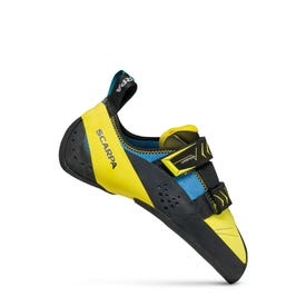 Scarpa Vapor V Rock Shoe Men's - Ocean / Yellow