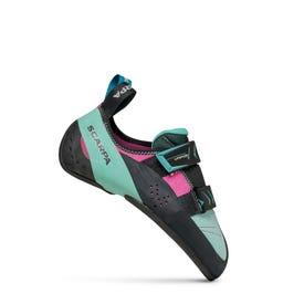Scarpa Vapor V Rock Shoe Women's - Dahlia / Aqua