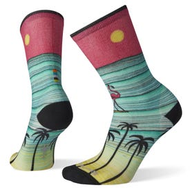 Smartwool Curated Surfing Flamingo Crew Sock Women's