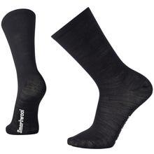 Smartwool Hike Liner Crew Sock Unisex - Black