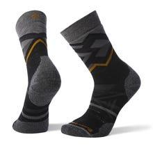 Smartwool PhD® Outdoor Medium Pattern Crew Sock Men's - Black Heather