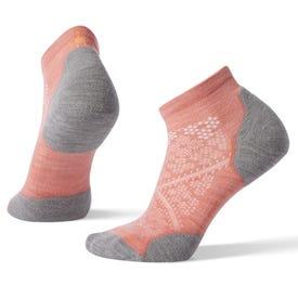 Smartwool PhD® Run Light Elite Low Cut Sock Women's - Bright Coral