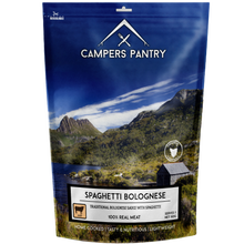 Campers Pantry Spaghetti Bolognese - Single Serve