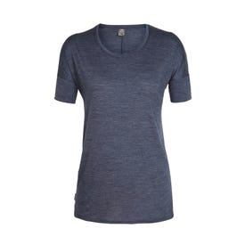 Icebreaker Cool-Lite Solace SS Low Crewe Women's Clearance