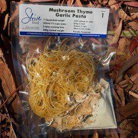 Strive Mushroom Thyme and Garlic Pasta